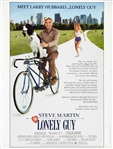 "1984 Steve Martin ""The Lonely Guy"" 27""x 41"" Movie Poster"