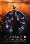 "1994 Highlander The Final Dimension 27""x 40"" Movie Poster"