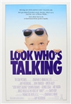 "1989 Look Whos Talking 27""x 41"" Film Poster"