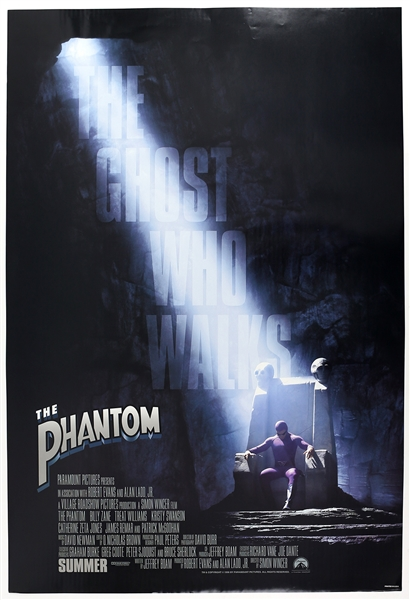 "1996 The Phantom 27""x 41"" Film Poster"