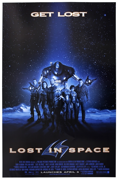 "1998 Lost in Space 25""x 39"" Film Poster"