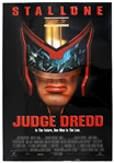 "1995 Judge Dredd 27""x 41"" Film Poster"