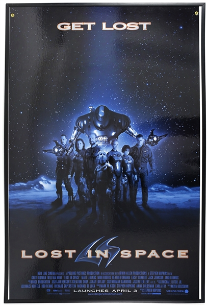 "1998 Lost in Space 26""x 40"" Film Poster"