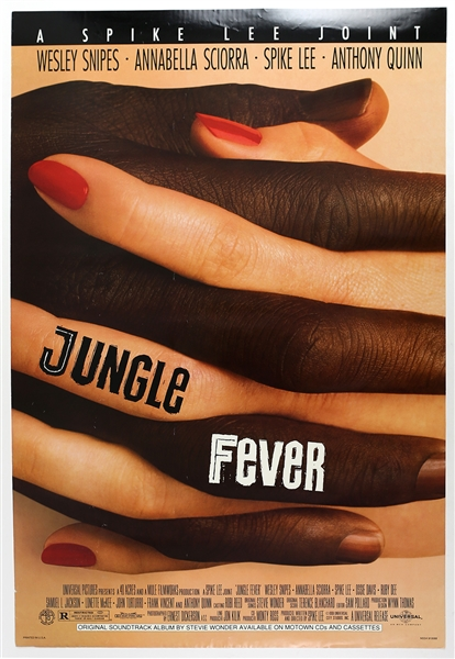 "1991 Jungle Fever 27""x 40"" Film Poster"