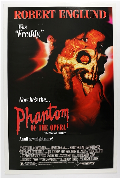 "1989 The Phantom of the Opera 25""x 39"" Film Poster"