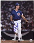 "1989-1990 Mitch Williams Chicago Cubs Signed 11""x 14"" Photo (JSA)"