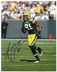"2010-2015 Andrew Quarless Green Bay Packers Signed 11""x 14"" Photo (JSA)"