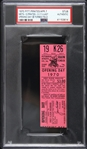 1970 Pittsburgh Pirates Final Opening Day At Forbes Field Ticket Stub (PSA Slabbed Authentic)