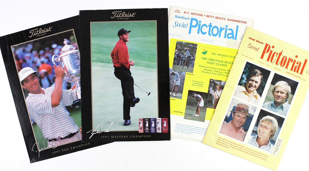 1970s-1990s Golf Collection (Lot of 4)