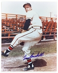 "1990s Lew Burdette Milwaukee Braves Signed 8"" x 10"" Photo (JSA)"