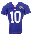 2004 Eli Manning New York Giants Home Jersey (MEARS A5)