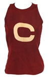 1903-12 Cornell Big Red Game Worn Basketball Jersey (MEARS LOA)
