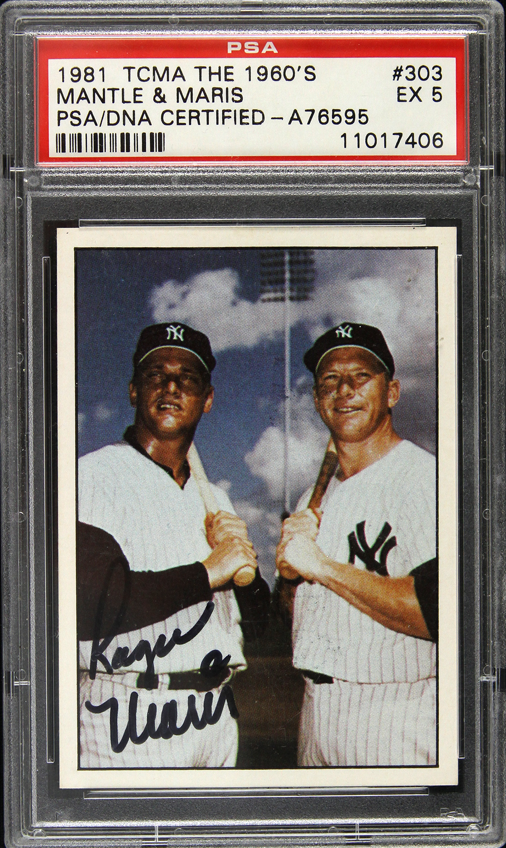 Lot Detail 1981 Roger Maris New York Yankees Signed Tcma The