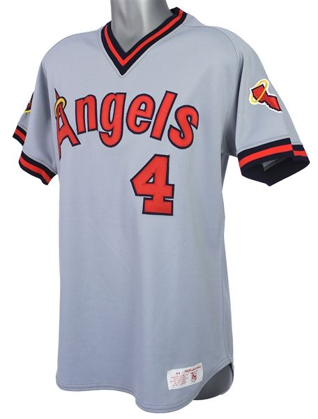 1985 Bobby Grich California Angels Road Jersey (MEARS LOA)