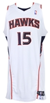 2008-2009 Al Horford Atlanta Hawks Game Worn Home Jersey (MEARS LOA/MeiGray/Team Letter)
