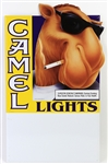 "1993 Camel Lights 16"" x 27"" Joe Camel Broadside"