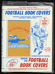 1965 NFL Official Pro Football Book Covers (5) Sealed in Original Product Bag