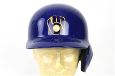 2013 Ryan Braun Milwaukee Brewers Batting Helmet (MEARS LOA/MLB Hologram)