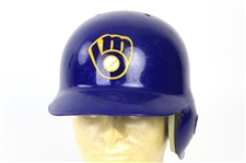 1993 Matt Mieske Milwaukee Brewers Game Worn Batting Helmet (MEARS LOA)