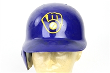 1993 Milwaukee Brewers Batting Helmet (MEARS LOA)