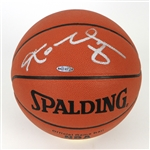 2000s Kobe Bryant Los Angeles Lakers Signed ONBA Stern Basketball (Upper Deck Authentication)