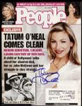 2002 Tatum ONeal Signed People Magazine (JSA)