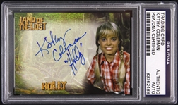 1974-1977 Land of the Lost Kathy Coleman Signed LE Trading Card (PSA/DNA Slabbed)