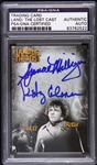 1974-1977 Land of the Lost Milligan/Coleman Signed LE Trading Card (PSA/DNA Slabbed)