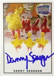 1974-77 Danny Seagren Big Bird Signed LE Trading Card (JSA)