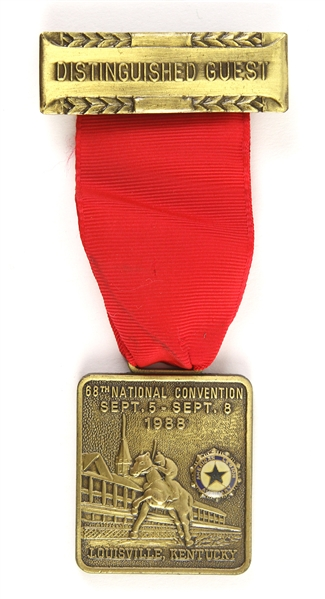 "1988 68th National Convention Distinguished Guest 4 1/2"" Pin"