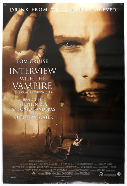 "1994 Interview with the Vampire 27""x 41"" Film Poster"
