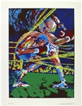 "1975 Muhammad Ali ""Ali Knockout"" 20""x 26"" Ted Tanabe Serigraph"