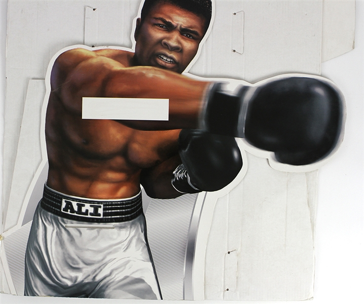 "2002 Muhammad Ali Knock Out Kings EA Sports Play Station 31""x 59"" Display"
