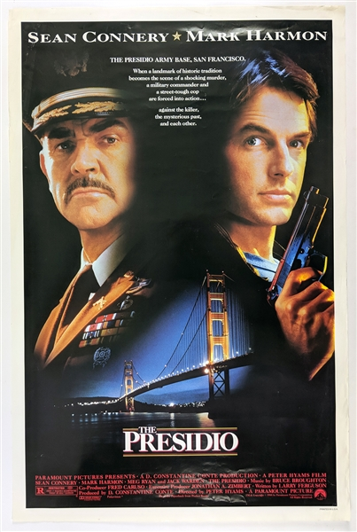 "1988 The Presidio 27""x 41"" Film Poster"