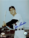 1957-64 Jim Landis Chicago White Sox Autographed 8x10 Color Photo *JSA*