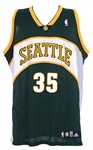2007 Kevin Durant Seattle Supersonics Signed Jersey (Upper Deck Authentication)