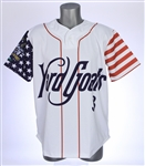 2018 Hartford Yard Goats #3 4th of July Jersey (MEARS LOA)