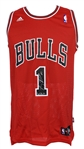 2008-09 Derrick Rose Chicago Bulls Signed Jersey (PSA/DNA)