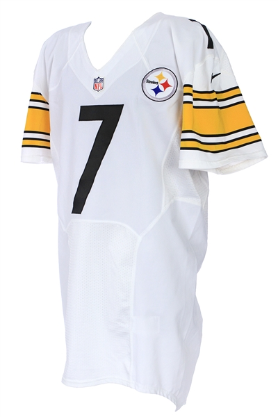 2014 Ben Roethlisberger Pittsburgh Steelers Road Jersey (MEARS LOA)