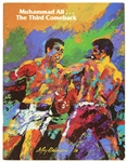 1978 (September 15) Muhammad Ali Leon Spinks Superdome Heavyweight Title Fight Program