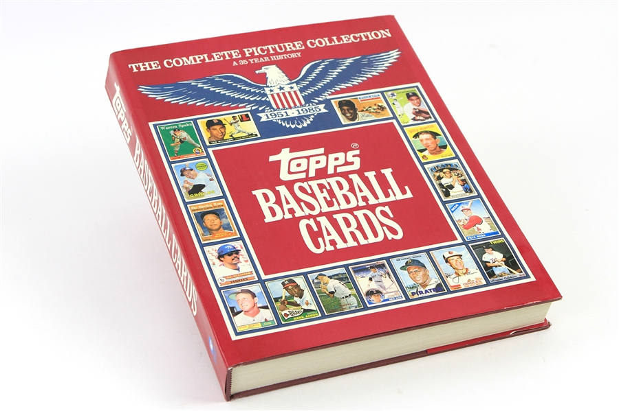 1951-85 Topps Baseball Cards The Complete Picture Collection Hardcover Book