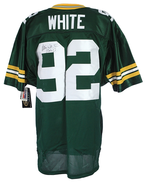1999 Reggie White Green Bay Packers Signed Jersey (JSA)