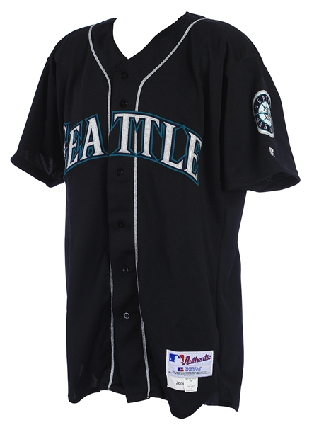 2000 Alex Rodriguez Seattle Mariners Game Worn Alternate Jersey (MEARS A10/Mill Creek COA)