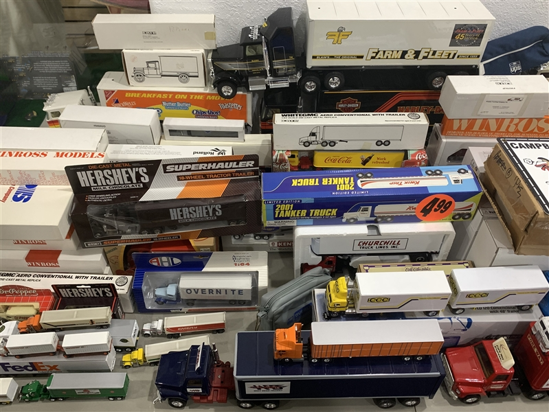 1960s-1990s Model Truck Collection (Lot of 80+)