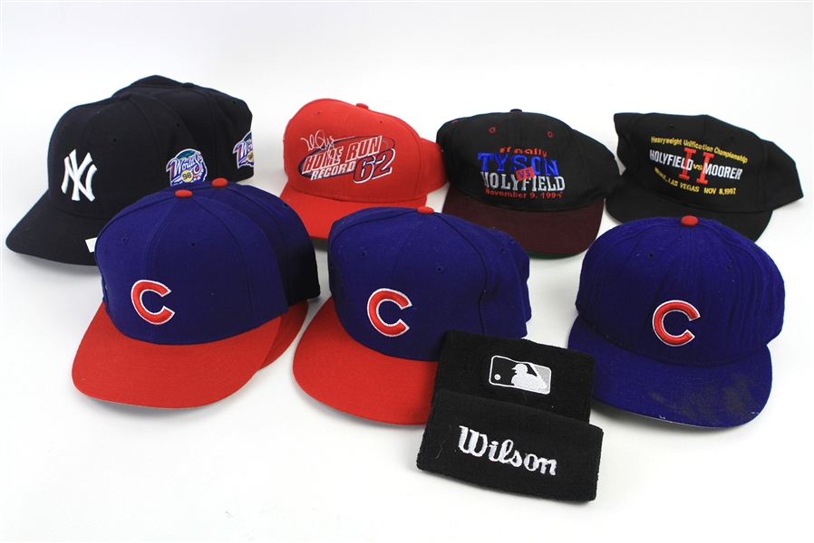 1990s Baseball Cap Collection (Lot of 12)