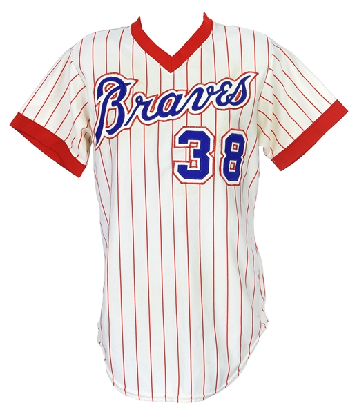 1976 Al Autry/Elias Sosa Atlanta Braves Home Jersey (MEARS LOA)