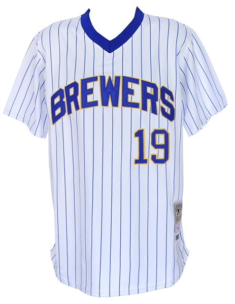 1982 Robin Yount Milwaukee Brewers Mitchell & Ness Throwback Jersey