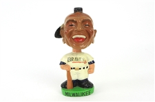 "1962-64 Milwaukee Braves Indian Mascot 7"" Bobble Head"