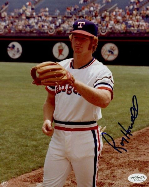 1974-77 Texas Rangers Roy Howell Autographed 8x10 Color Photo JSA Hologram