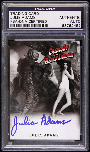 1954 Julia Adams Creature from the Black Lagoon Signed LE Trading Card (PSA/DNA Slabbed)
